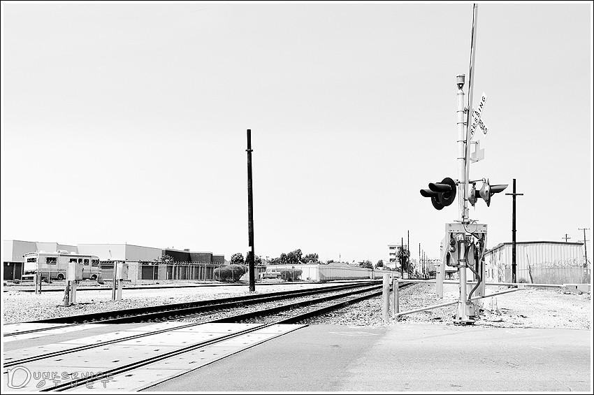 Railroad B&W.