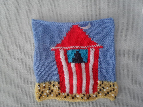 'Punch and Judy' Square for our Sea/Sideside Challenge. So lovely, a simply gorgeous Square!