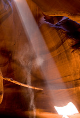 Antelope Canyon (james_michael_hill) Tags: red arizona orange usa america james michael sand desert hill canyon page antelope slot sunbeam jmh
