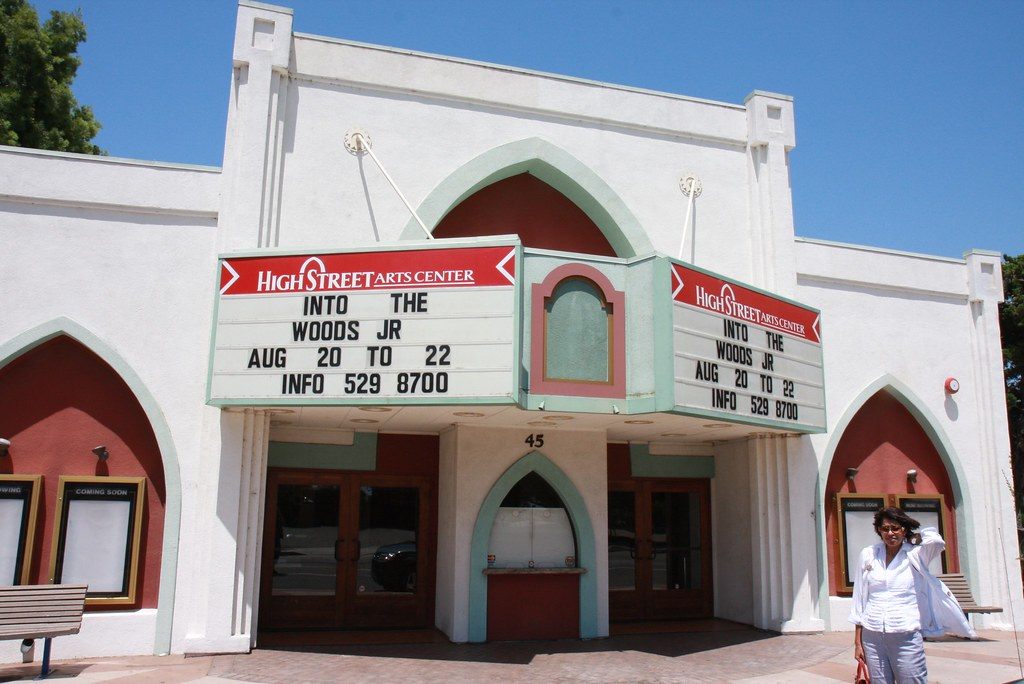 The old Moorpark Theater (El Rancho Theater)
