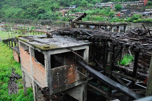 猴硐煤礦博物園區 - 選煤廠