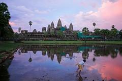 日落吴哥窟 II / Sunset@Angkor Wat II
