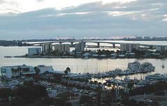 Sarasota from Condominium (2003) (roger4336) Tags: 2003 bridge bay florida air sarasota ringling johnringlingbridge