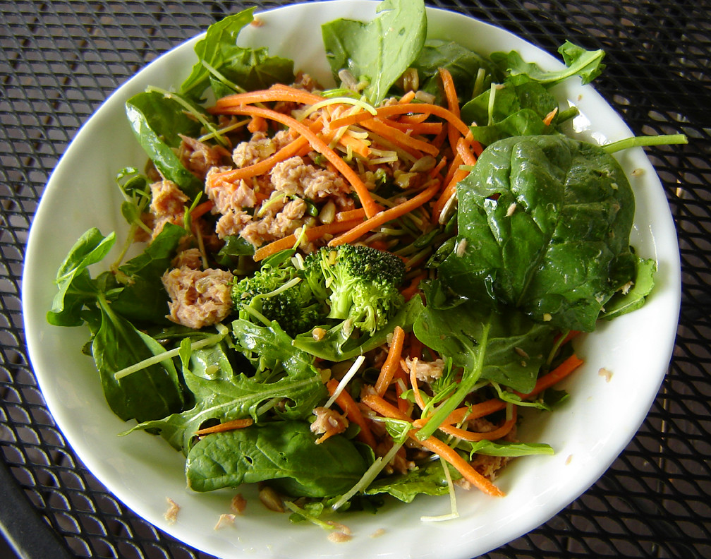 Tuna Multi Greens Salad