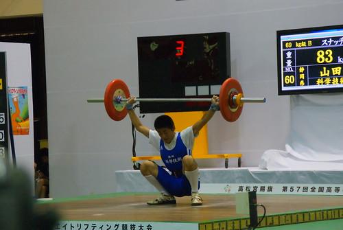 2010沖縄総体 山田優選手の記録