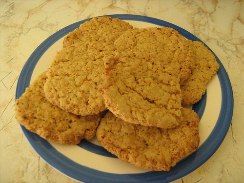 coconut and oatmeal cookies
