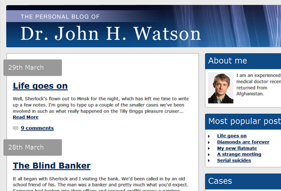 Watsons Blog