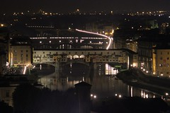 Ponte Vecchio di notte (lucesucarta) Tags: bridge night river florence fiume ponte firenze arno notte