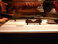 Weapon from the Ghengis Khan exhibit (AMunter) Tags: ghengiskhan polearm