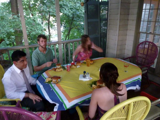 P1030298-2010-08-08-Burger-Watermelon-Dinner-Guests-Blur-Table-For-11