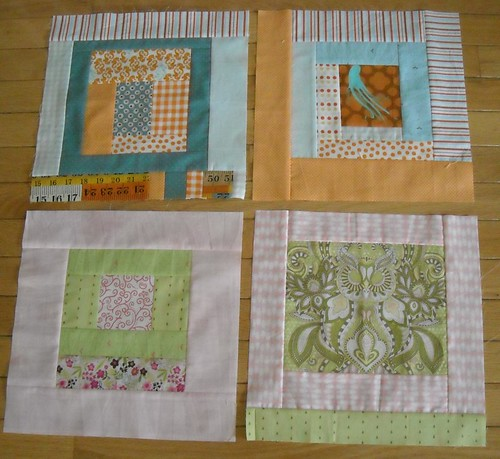 KCMQG charity quilt blocks