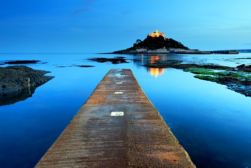 St. Michael's Mount, Cornwall August Blues