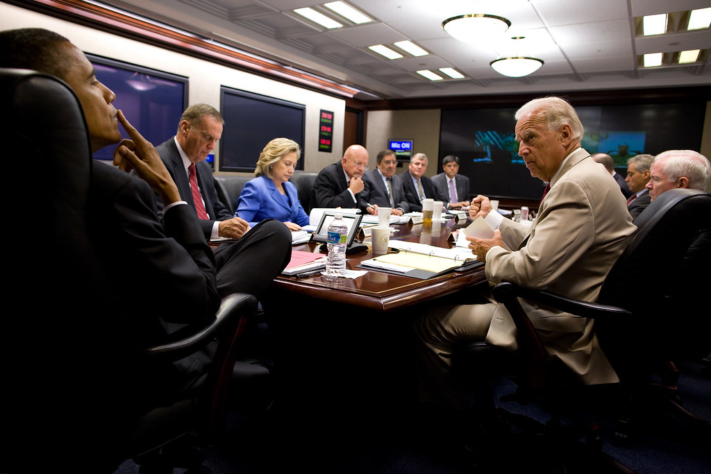 In the Situation Room on Iraq | whitehouse.gov