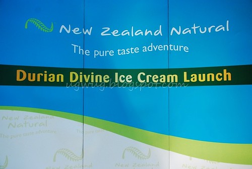 New Zealand Natural Durian Divine Launch