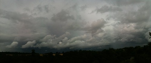 Rain Clouds Panorama