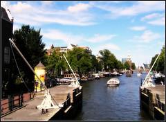 la vista / the view (Eber&Mars) Tags: amsterdam view thenetherlands vista amstel sluis noordholland northholland paísesbajos esclusa holandaseptentrional