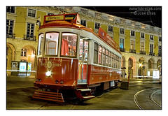 Lisbon - Tram in Commerce Square / Lisboa - Elctrico da Carris na Praa do Comrcio #02 (Jose Elias / StockPhotosArt.com) Tags: street old travel urban tourism portugal public ecology car yellow electric architecture night landscape photography colorful europe downtown european nocturnal bright trolley lisboa lisbon south traditional transport sightseeing vivid tram rail cable landmark transportation colourful baixa typical streetcar tramway portuguese carris ecological electrico tramcar iberian fotoelias