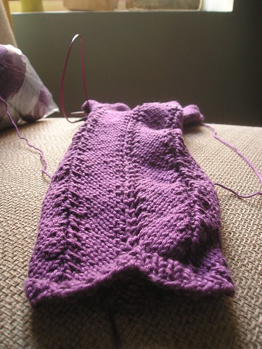Test Knitting: Hooded Shrug