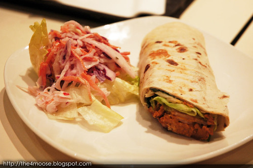 Soup Spoon - Chicken Tikka Wrap