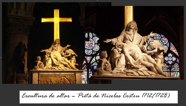 Escultura Altar Notredame