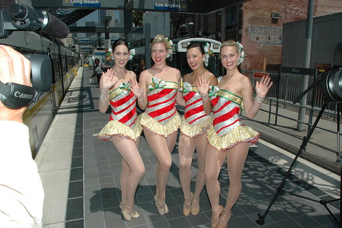 Rockettes @ Pico/Chick Hearn Station