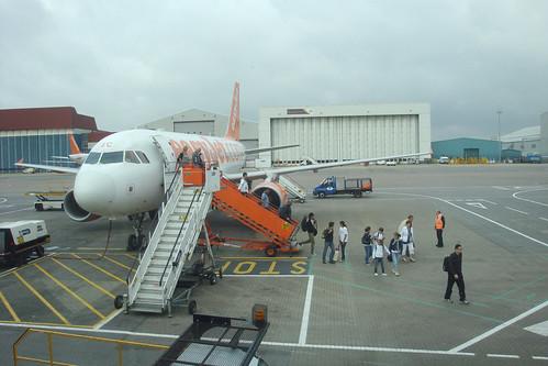Retour vers Londres Arriving