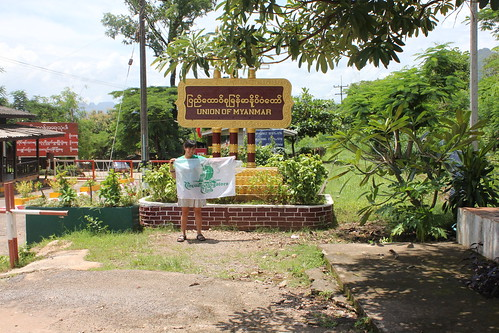 Border of Myanmar and Thailand