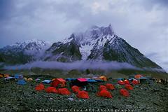 Clouds, Camps & Concordia (M Atif Saeed) Tags: camping pakistan mountain mountains nature trekking trek landscape bravo village concordia k2 karakoram marble areas northern camps northernareas baltoro atifsaeed gettyimagespakistanq1
