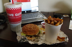 Five Guys Meal