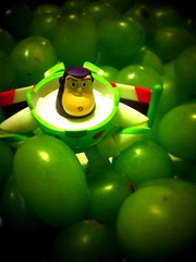 Day 259 (Alan / Falcon) Tags: green buzz toy toystory buzzlightyear disney pixar mattel iphone punny iphone365 buddypack toystory365