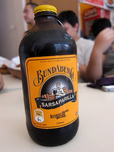Sarsaparilla at Chicken Charlie