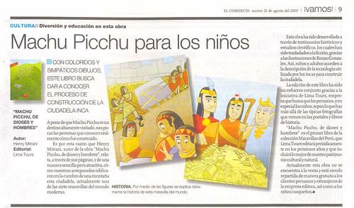 MachuPicchu en El Comercio