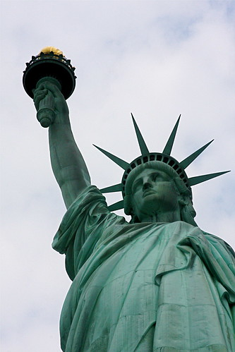 Statue of Liberty upclose