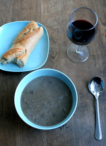 Ryan's mushroom soup