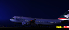 CX261 arriving into CDG early in the morning (aViaTioNuT) Tags: cx screenshots landing b747 cdg flightsimulator fsx 744 cpa lfpg cathaypacificairways supershot mywinners abigfave anawesomeshot diamondclassphotographer flickrdiamond theunforgettablepictures rubyphotographer