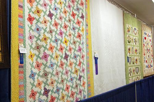 Iowa State Fair 2010 - Quilts - Blue Ribbon Quilts