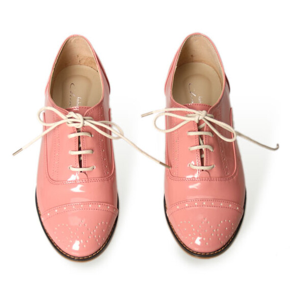 wifky lace up patent loafer 1