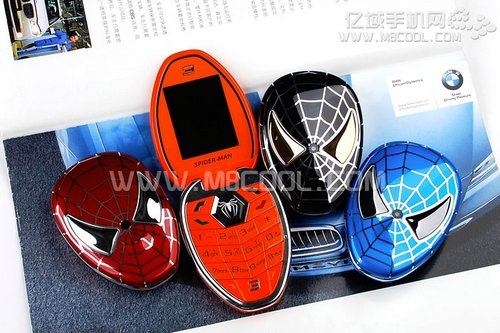 Spiderman Phone