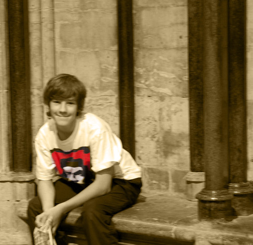 Cal in the Chapter House