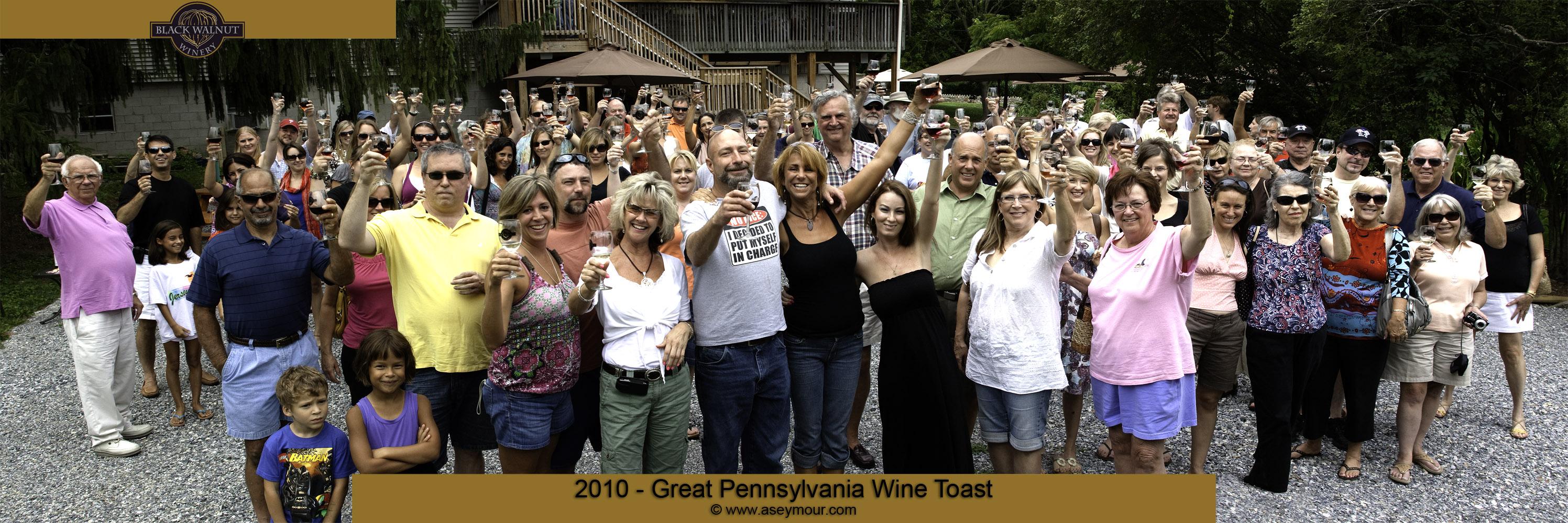 Black Walnut Winery panorama Group 02