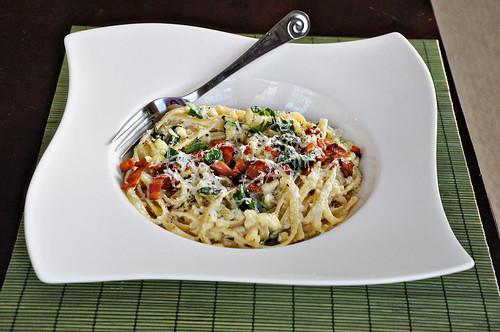 Corn Pesto Pasta