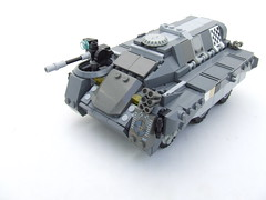 "Ettin IFV: ""Dromio"" (Shadow Viking) Tags: england support tank lego tea thing military squad apc ai afv moc ettin nearfuture foitsop trueenglisharmy"