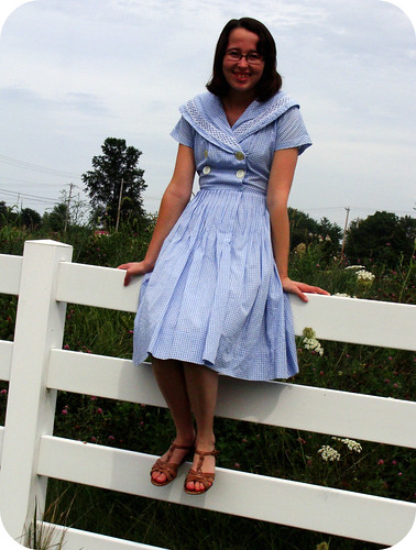 "My ""new"" vintage dress"