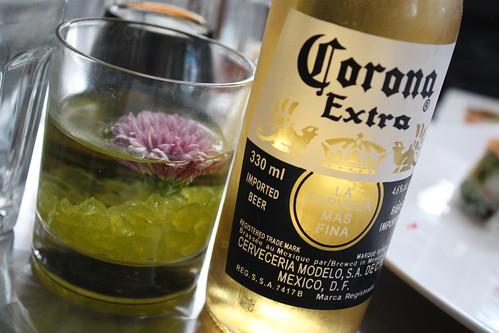 Corona at Sushi Queen Izakaya