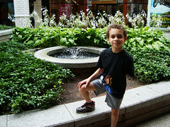 Aidan Loves Fountains
