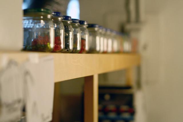Jars full of good stuff