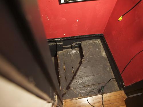 Basement Stair Repair- Before