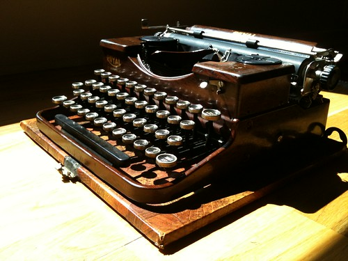 Agatha the Royal Portable Typewriter