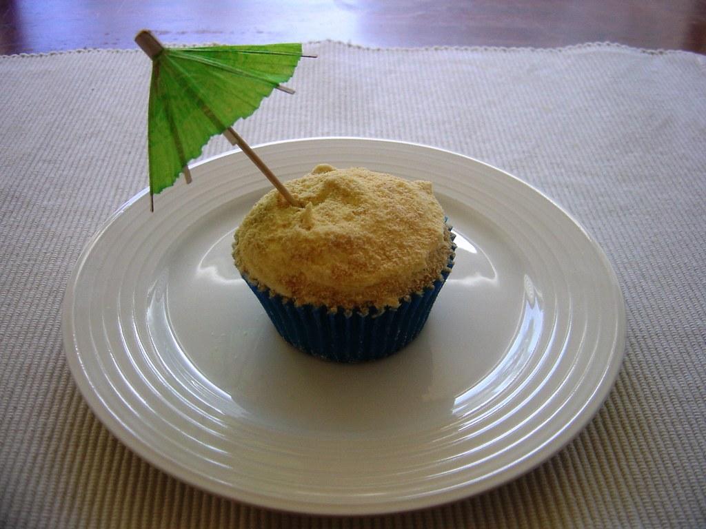 Beachcomber Cupcake