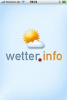 Wetter.info App für iPhone